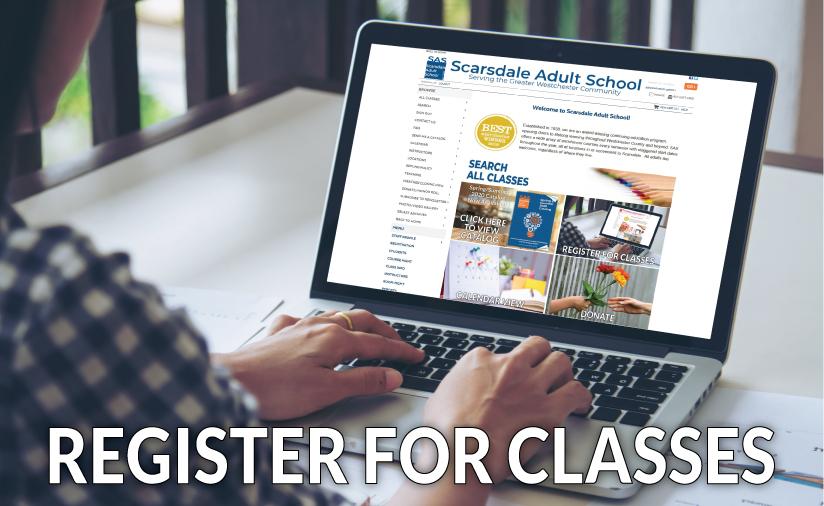 Register for classes