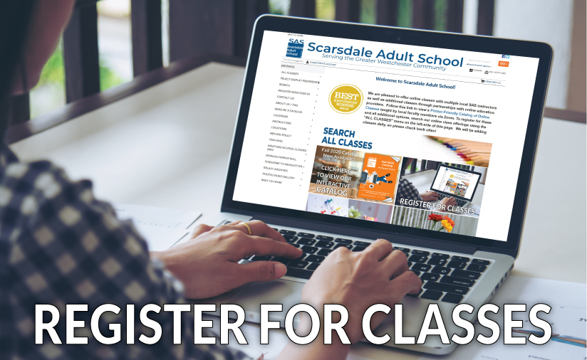 Scarsdale Adult School Register for Classes