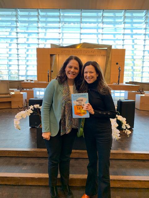 Book Discussion with Lori Gottlieb